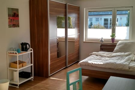 Sunny apartment close to convention center - Nürnberg - Leilighet