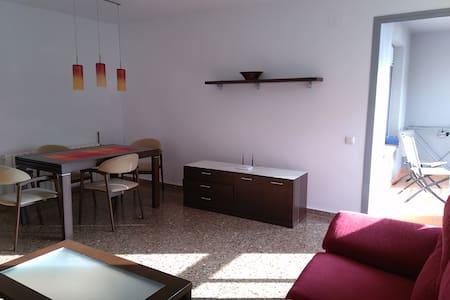 FLAT WITH 4 BEDS 2 COUCH - Castelló de la Plana - Apartament