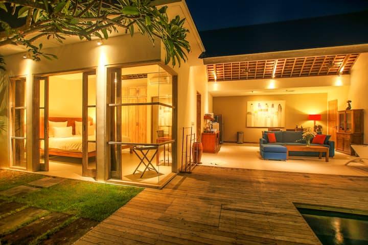 The Decks Bali 2 bedroom private  villa with pool