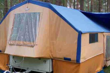 Wohnanhänger, Zelt, Kultanhänger - Prien am Chiemsee - Tent