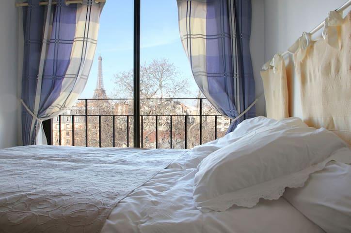 La chambre Tour Eiffel