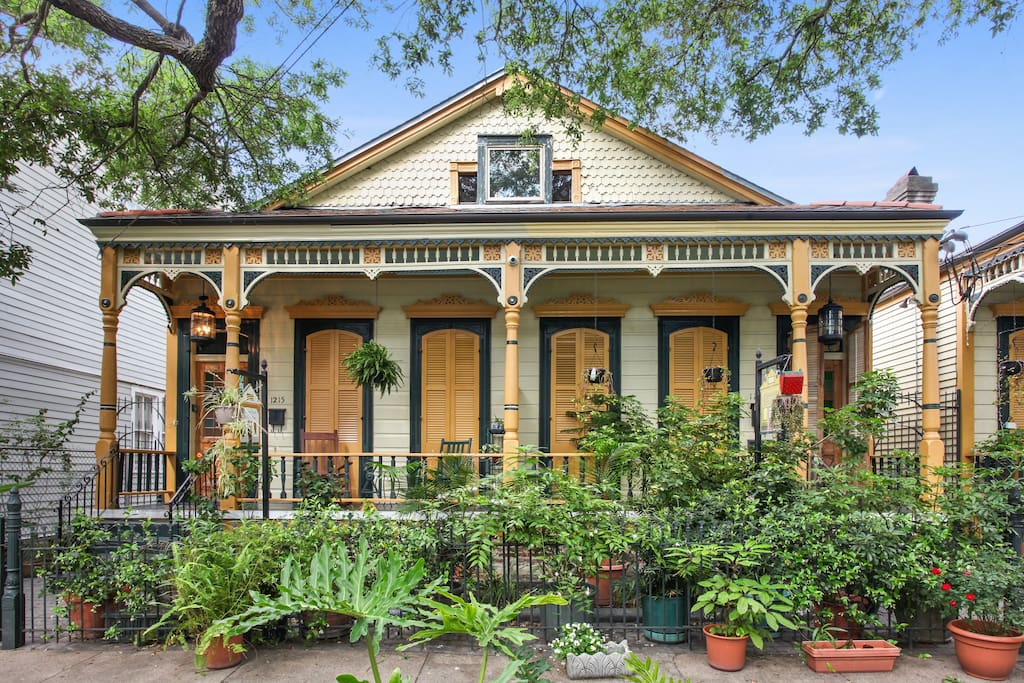 Angelica Creole Cottage Houses For Rent In New Orleans