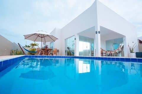 Casa Paraíso Piscina e 02Suítes #PARAÍSO DO BRASIL