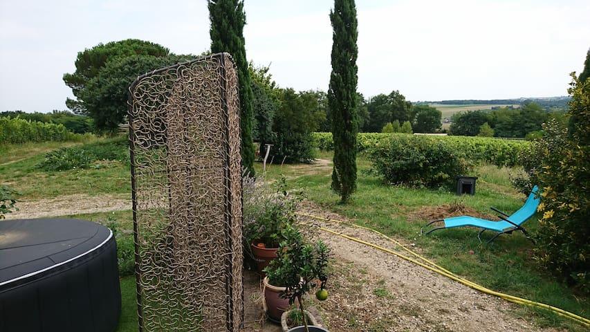 Maison sur les hauts de Gironde sur dropt
