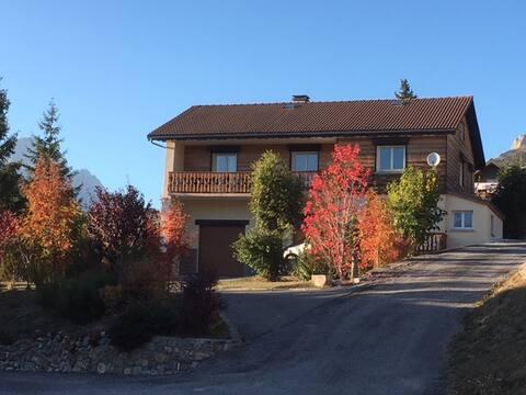 Location appartement dans un village du Dévoluy