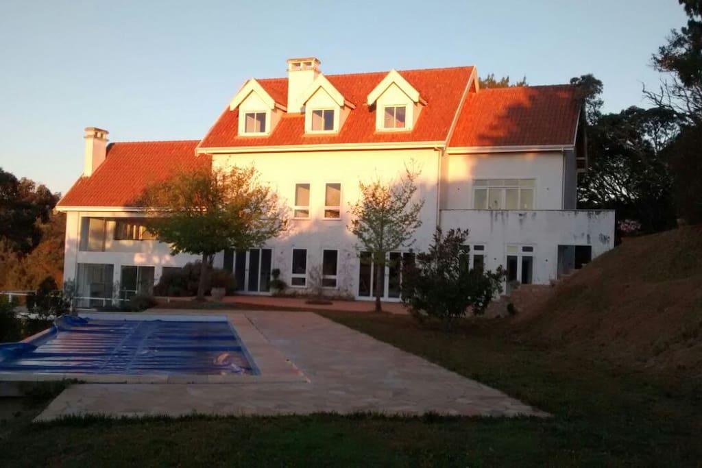 Área externa - Vista da casa