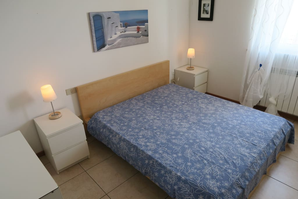 The bright double room