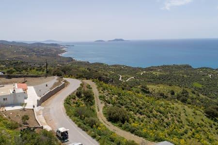 Natassa's view-Spectactular Sea View amidst Nature