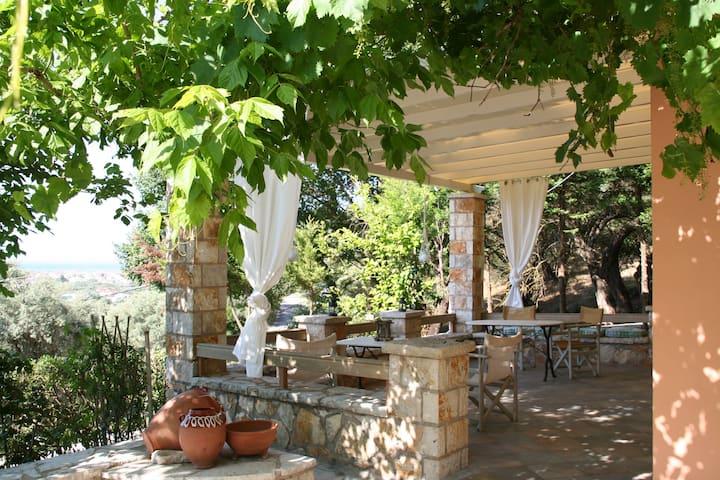 Niko's and Konstantina's family vacation house