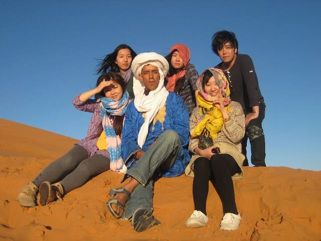 your desert camel trip in merzouga
