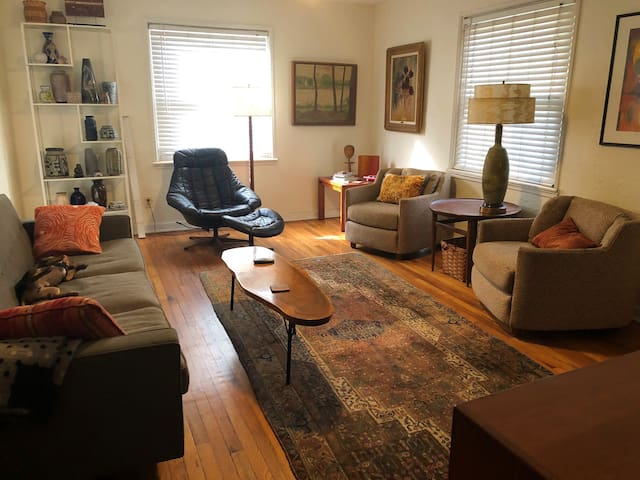 Mid Century Bungalow in Central St. Petersburg