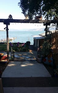 Charming 2 Bedroom  Cottage on Lake, Boat Dock - Kelseyville - Hus