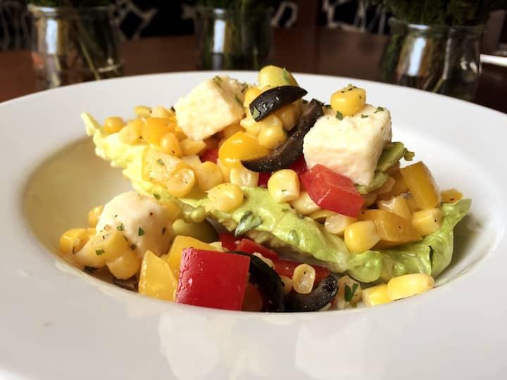 Peruvian Salad at Sumaq!