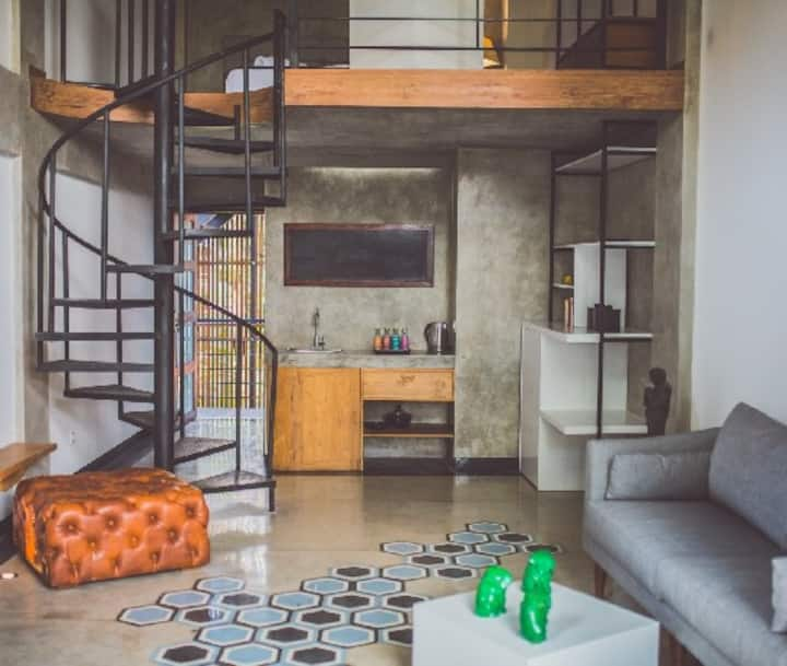 APARTMENT LOFT with Balcony