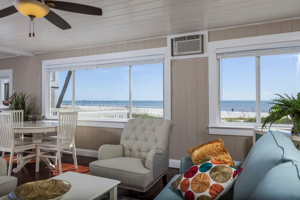 Perfect Gulf views from every window