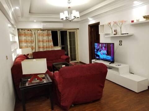 Modern cozy Apartment near airport/ Nasr city