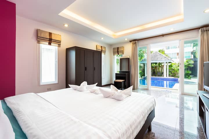 ❤️Luxurious and Relaxing villa, 3 bedrooms, Rawai