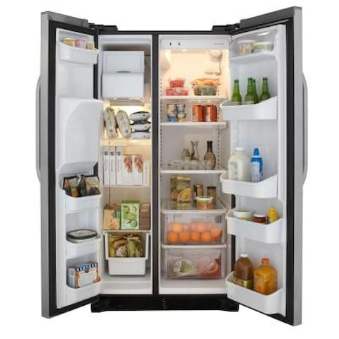 Double Door Refrigerator with Filtered Water and Ice