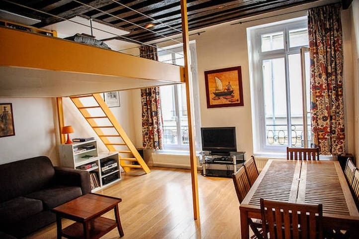 Adorable & cosy loft in central Paris