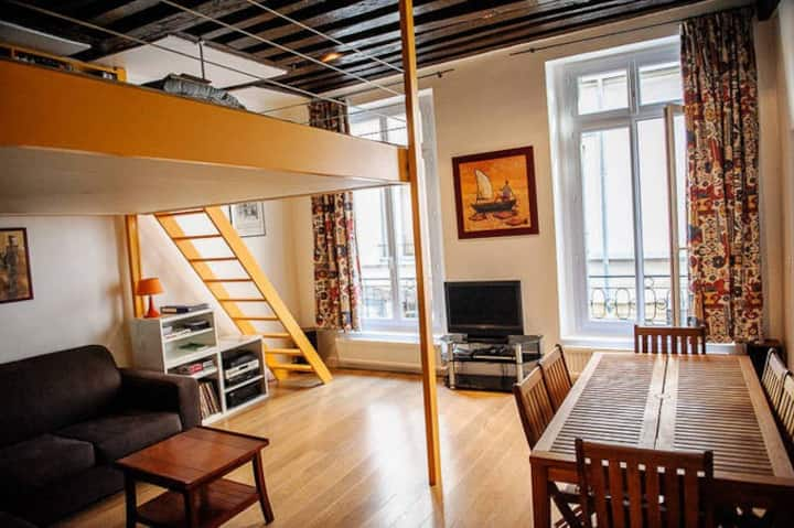 Fancy loft in the heart of Paris