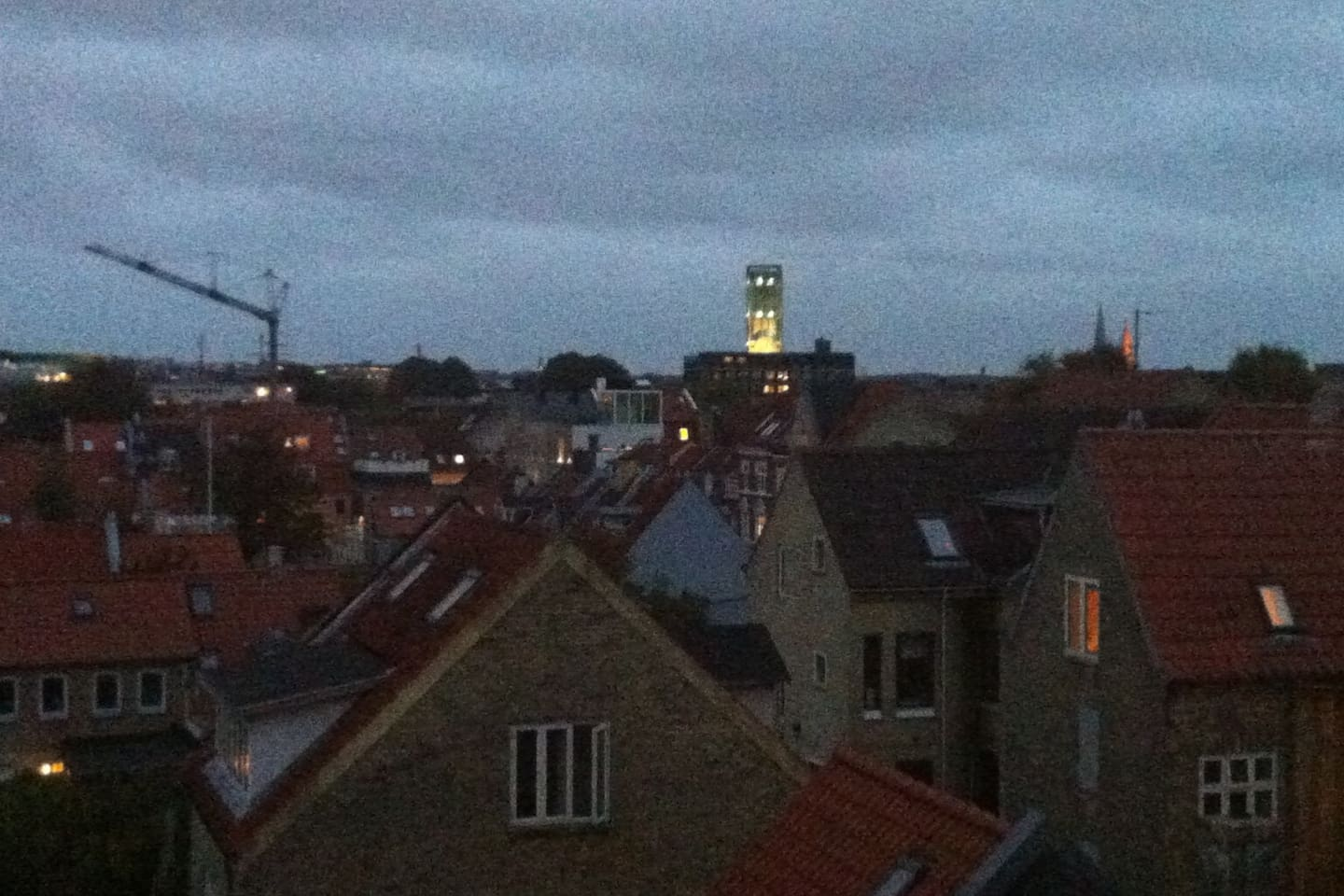 Great view over central Aarhus