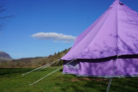 Furnished bell tent on campsite - Blaenau Ffestiniog - Barraca