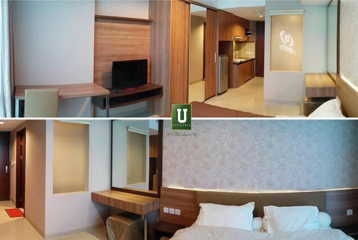 Cozy Stay at U-Residence Karawaci Supermall