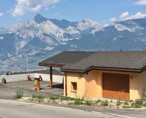 Chambres ds maison familiale/ ski 10 mn 4 vallées