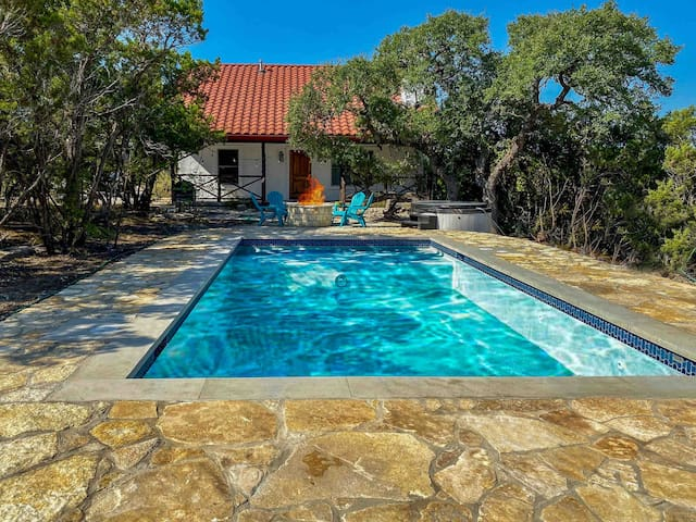★Lux Heated Pool/Spa l Retreat | FirePit |Sleep14★