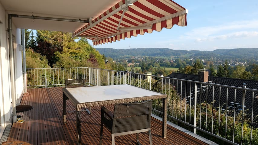 Bright apartment with fantastic view and terrace