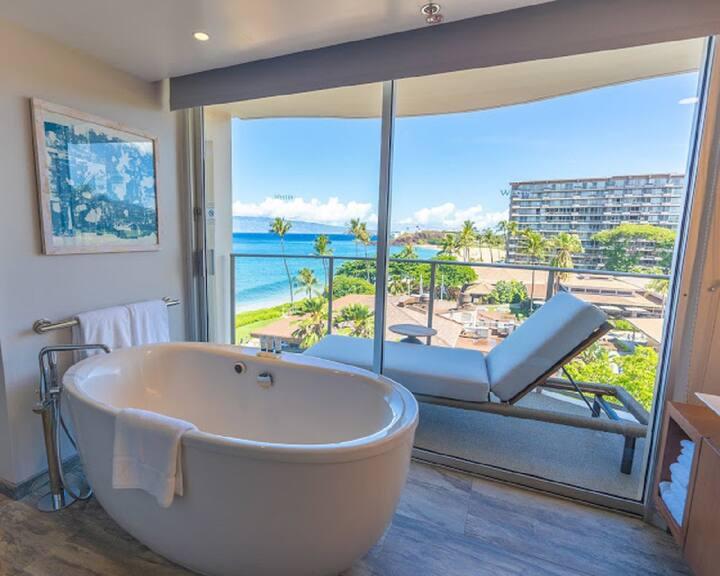 Luxury OCEANFRONT, Tennis,POOLS,Kitchen,Waterslide
