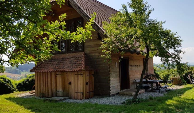 Ratholzlust, ein indyllisches Holzhaus am Waldrand