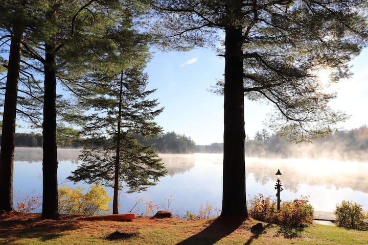 Adirondack Waterfront Lake House