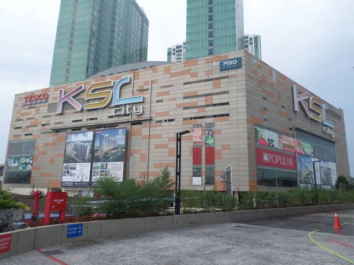 Johor Bahru city centre KSL City Mall 3 mins walk