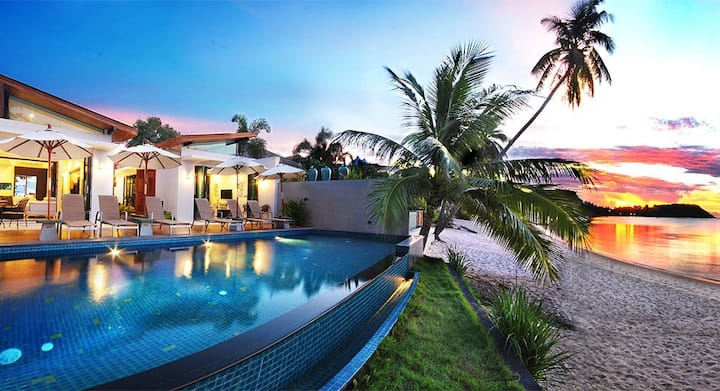 Samui Beach Front Villa