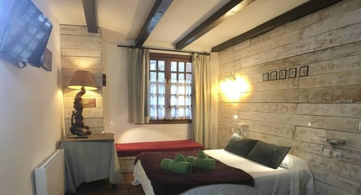 Habitación-4 triple, Rústica y espaciosa