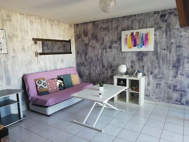 Beau studio 26 m² avec climatisation