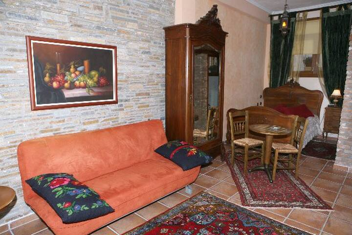 Santa Marina Guesthouse [Studio with Fire Place] - Loutraki - Byt