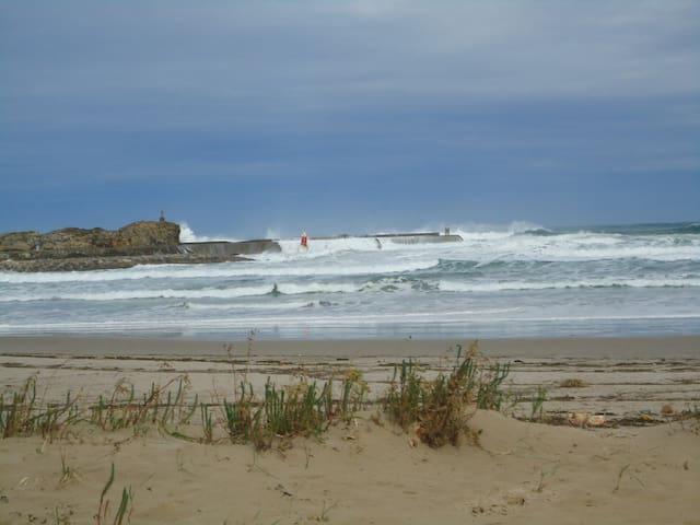 Apartamento en primera linea de playa - San Vicente de la Barquera - Flat