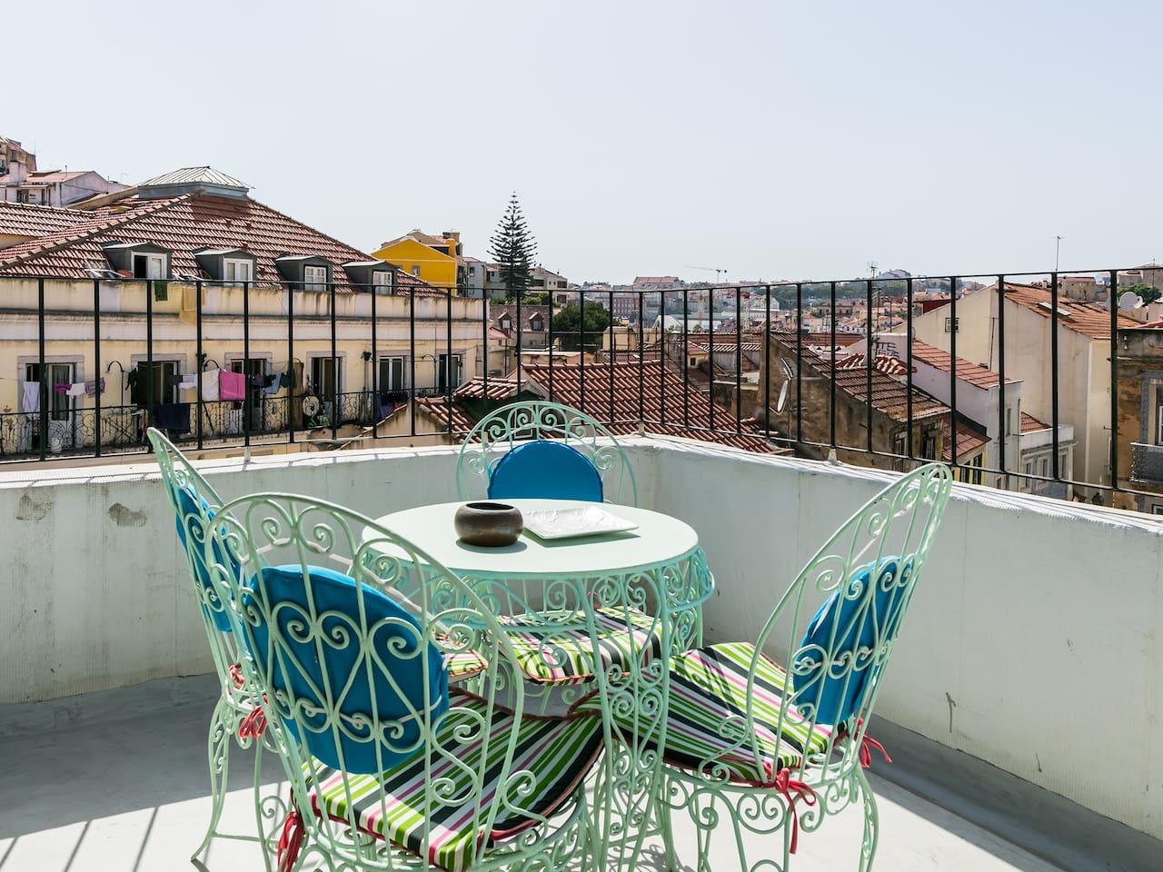 enjoy the terrace!