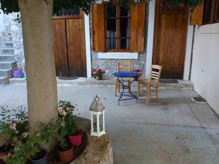 Traditional house in Salamina island