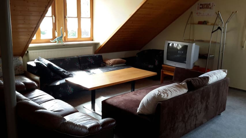 Cosy 2 room appartement in the heart of franconia - Bad Windsheim - Lejlighed