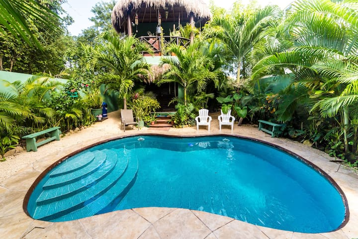 Mexican Outdoor Kitchen Tropical Garden Pool.11M