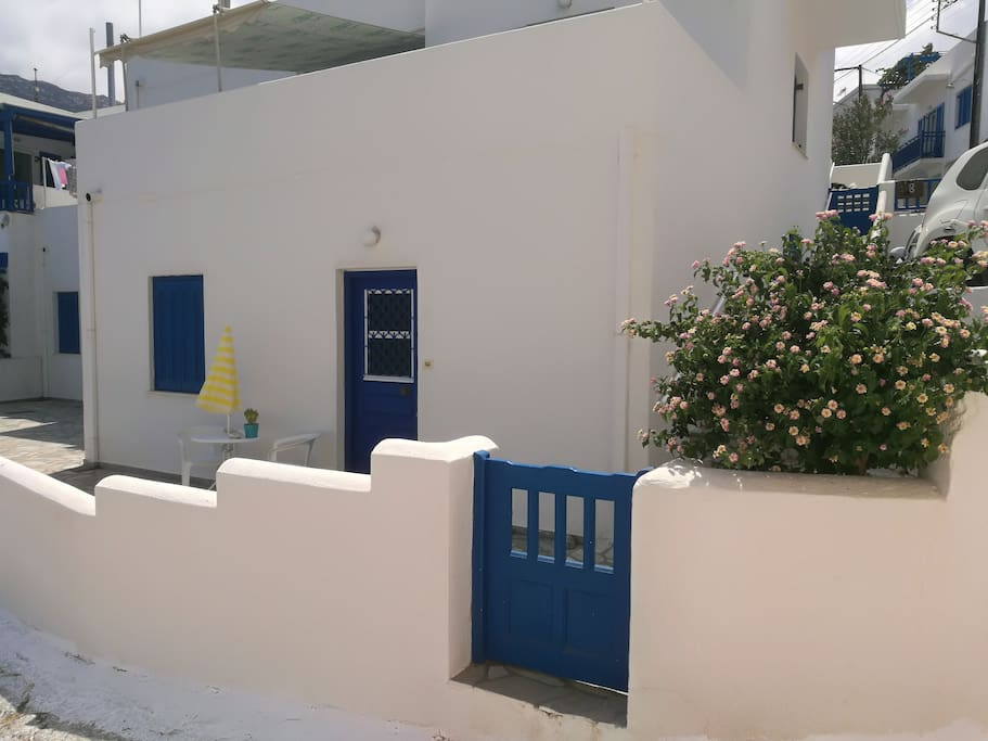 The guests' house with private entrance.