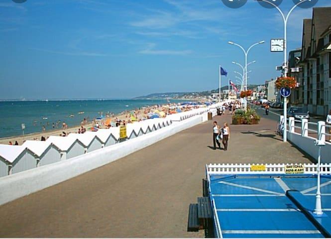 Appart Deauville-Villers 4 pers 100 m de la plage