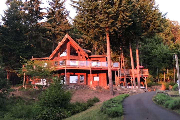 Salt Spring Island West Side View Home