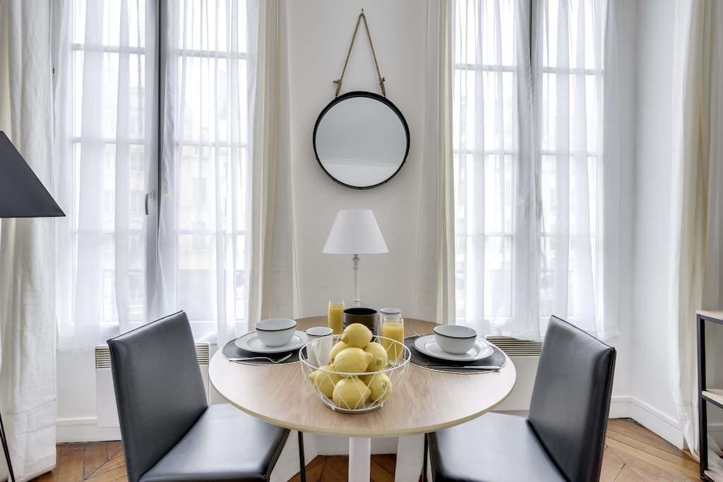 Dining area or working space