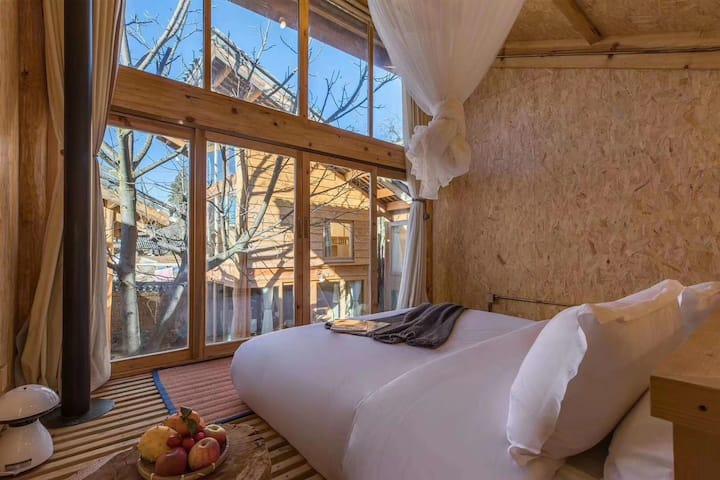 浪漫蜜月小木屋