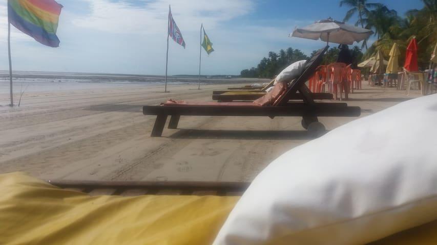 Casa de praia aconchegante na quarta praia