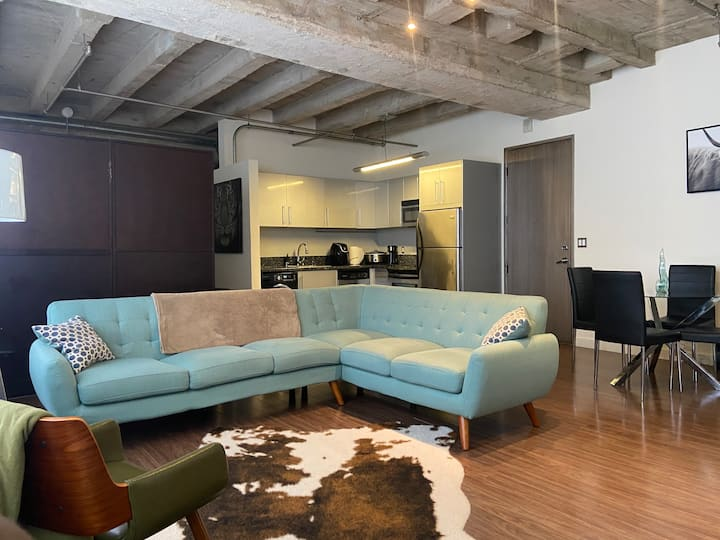 Beautiful New York Styled Loft DTLA
